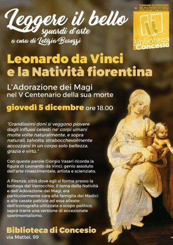 Leonardo e la natività fiorentina