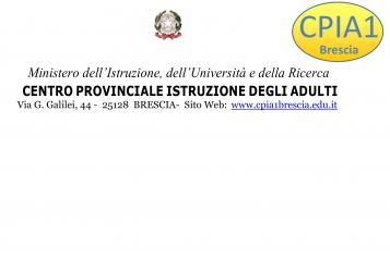 CPIA1 Brescia Centro Provinciale per l'Istruzione degli Adulti