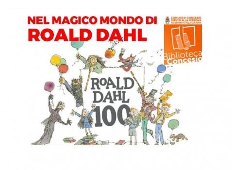Nel magico mondo di Roald Dahl