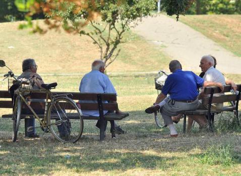 Anziani e caldo in Valle Trompia