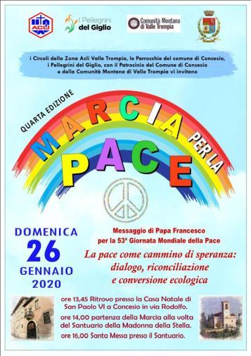 Marcia per la Pace in Valtrompia
