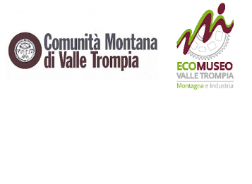 Logo Cmvt e Ecomuseo di Valle Trompia. La Montagna e l'Industria
