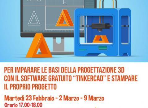 Attività di stampa 3D